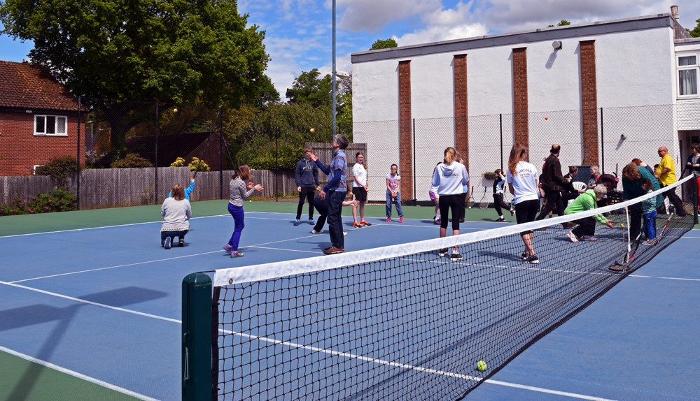 INCLUSIVE TENNIS AT EATSC