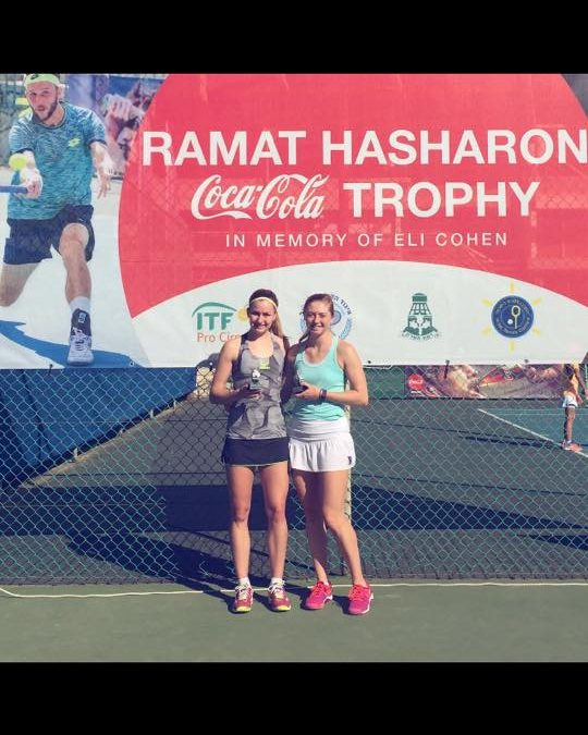 OLIVIA NICHOLLS AND ALICIA BARNETT WIN BACK TO BACK TITLES IN ISRAEL