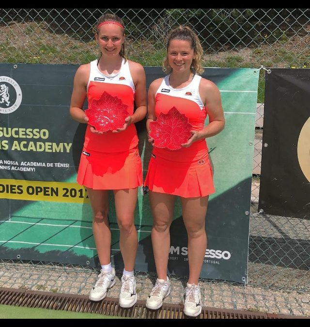 OLIVIA WINS ANOTHER ITF WOMENS DOUBLES TITLE