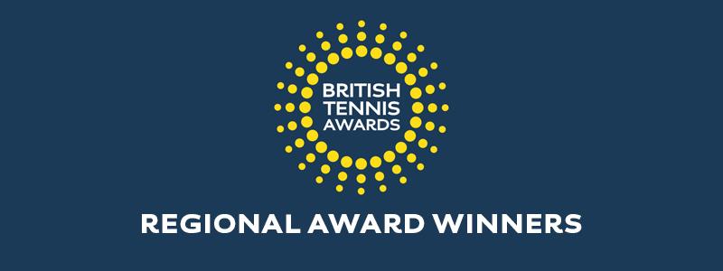BRITISH TENNIS AWARDS – 2 REGIONAL WINNERS FOR NORFOLK
