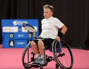 WHEELCHAIR PLAYER BEN BARTRAM INSPIRED BY ALFIE HEWETT
