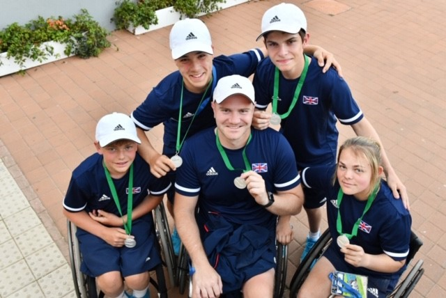 NORFOLK DUO HELP GB WIN SILVER AT WHEELCHAIR TENNIS WORLD TEAM CUP