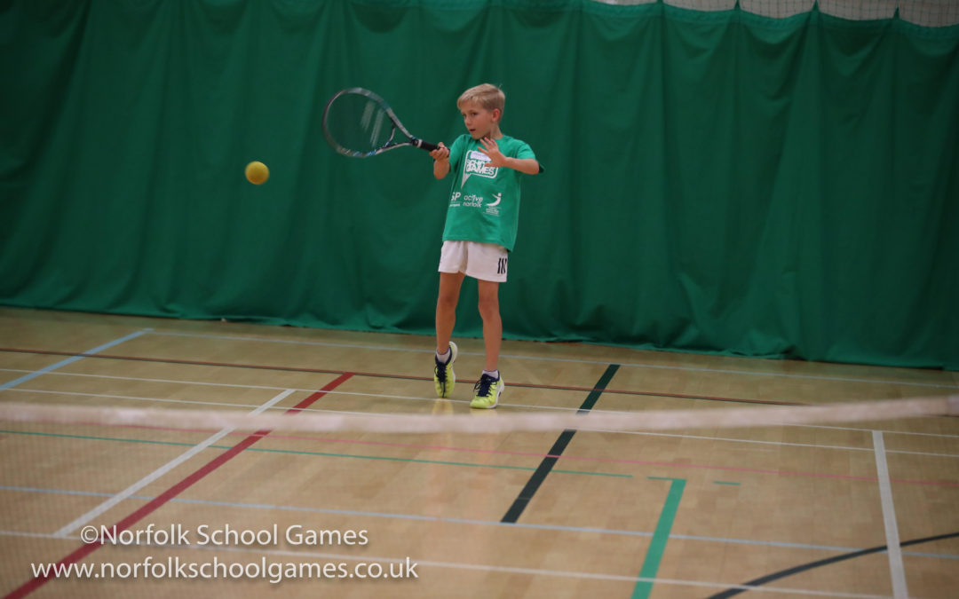 CATTON GROVE RETAIN MINI TENNIS SCHOOL GAMES TITLE