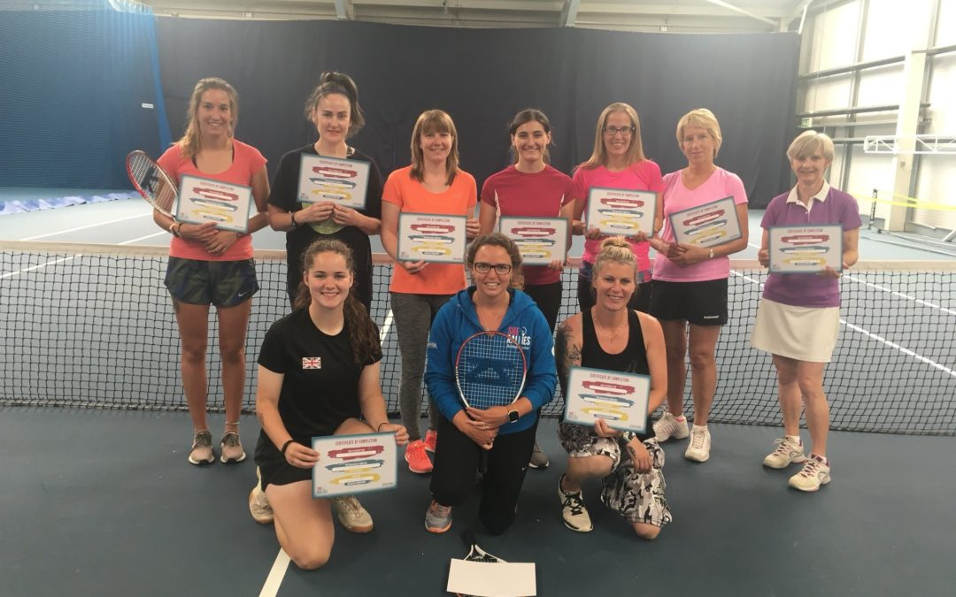 Lil Miss Hits Course – Norwich – Opportunities for Women and Girls in Tennis