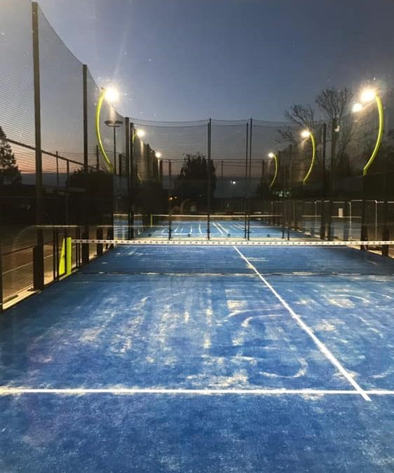 NEW PADEL COURTS AT DISS HEYWOOD SPORTS CLUB