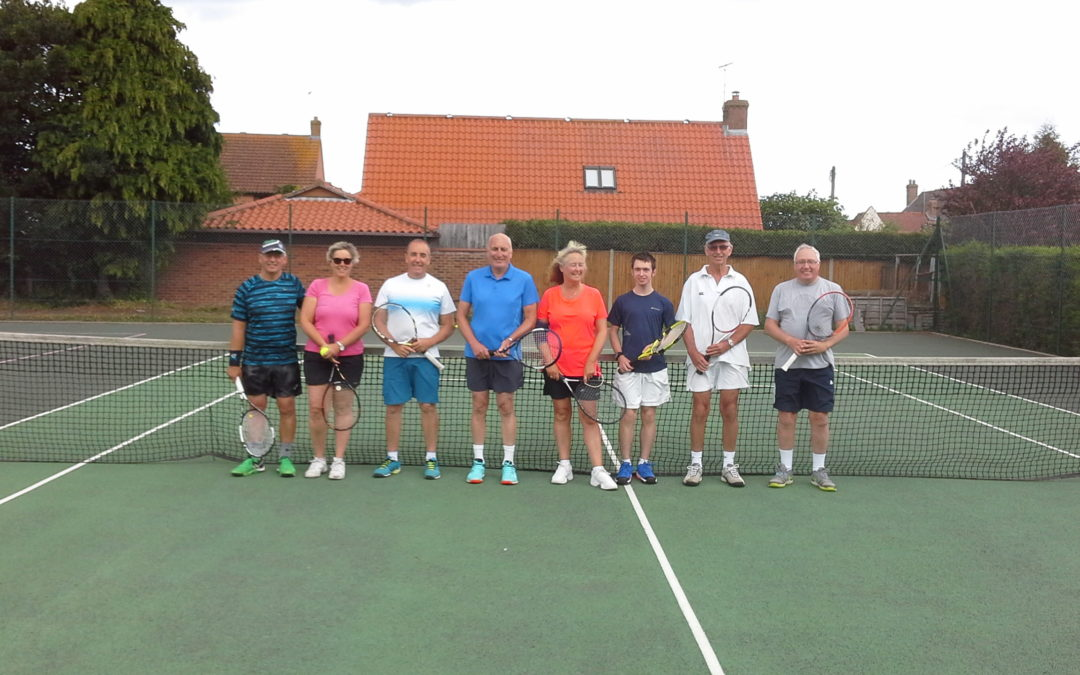 WELLS TENNIS CLUB – MARY BIRCHAM DOUBLES AND BBQ