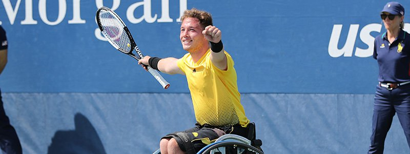 ALFIE HEWETT WINS US OPEN SINGLES/DOUBLES TITLES