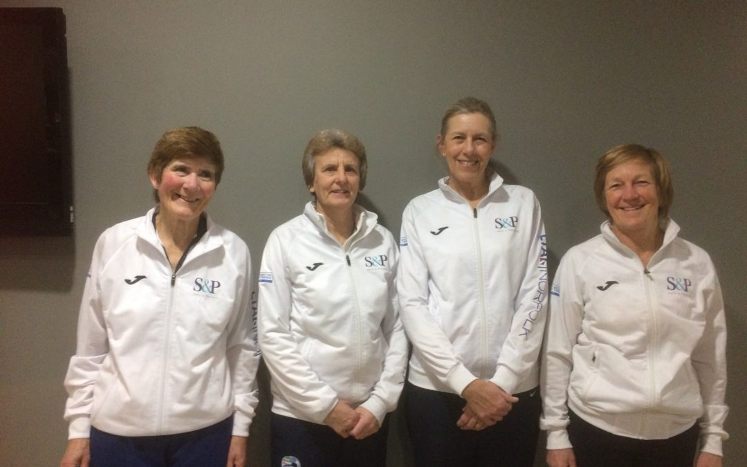 LADIES OVER 60S TEAM ARE NATIONAL CHAMPIONS