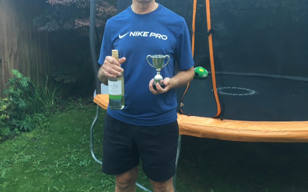 NEIL HENERY IS NORFOLK OVER 45S CHAMPION