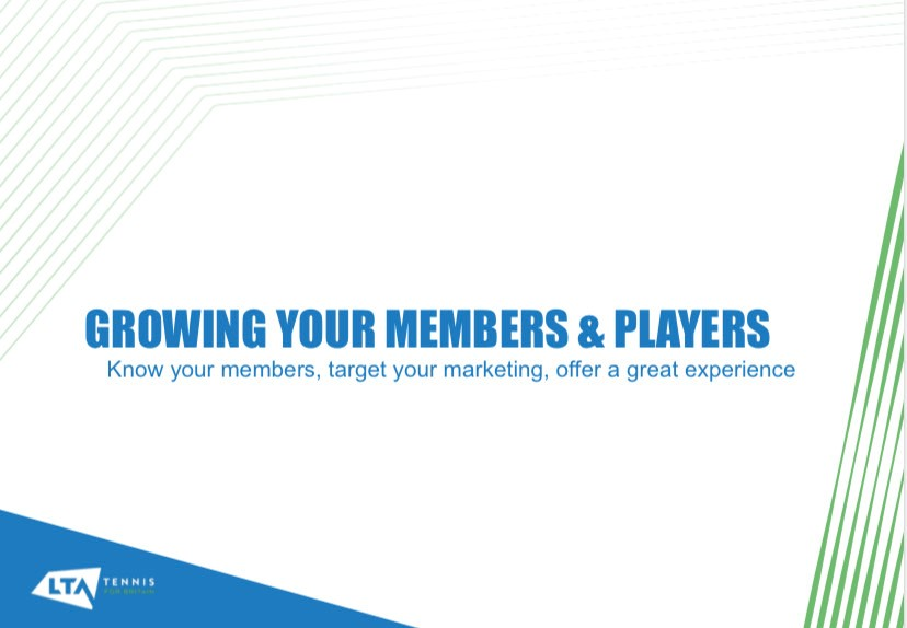 WEBINAR PRESENTATION – Growing your membership
